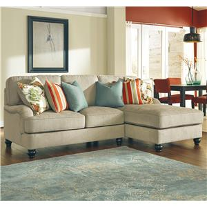 Benchcraft Kerridon 2-Piece Sectional with Right Chaise