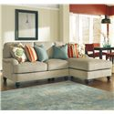 Ashley/Benchcraft Kerridon 2-Piece Sectional with Right Chaise - Item Number: 2630055+17
