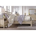 Benchcraft Kianni Contemporary Queen Panel Bed - Bed shown may not represent bed size indicated