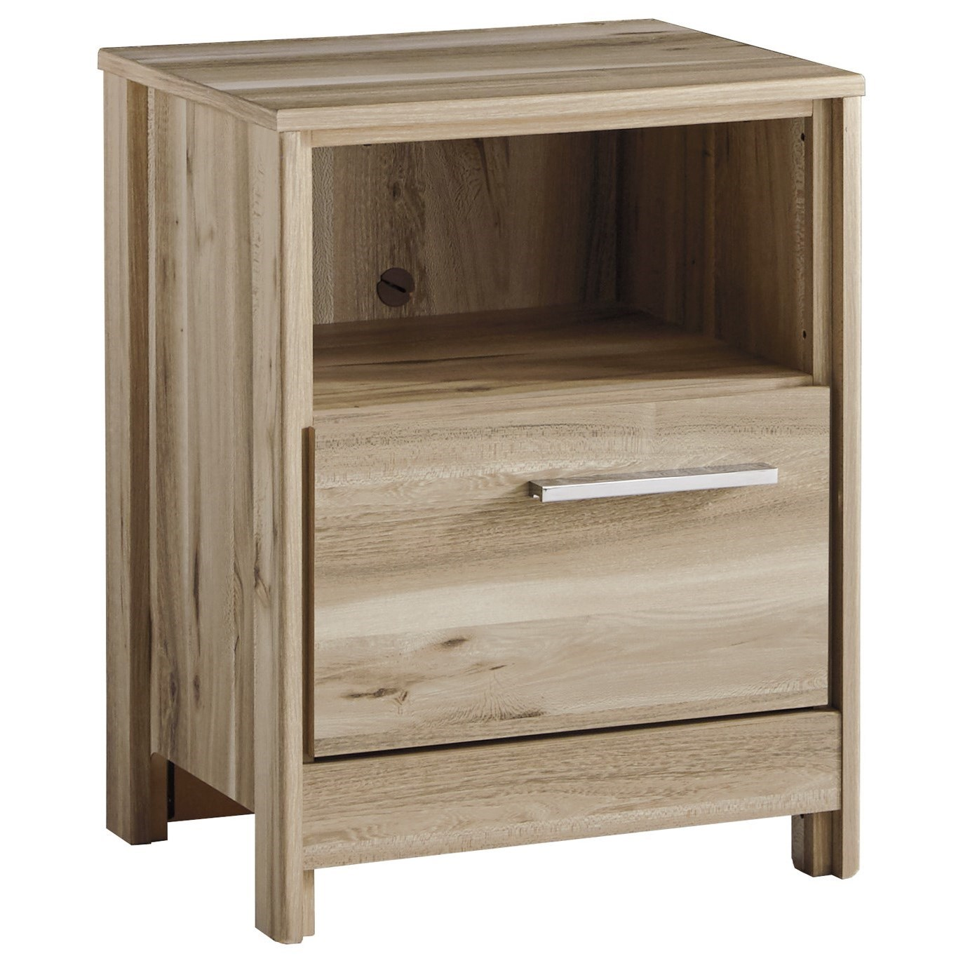 Benchcraft Kianni One Drawer Night Stand - Item Number: B230-91