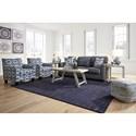 Benchcraft Kiessel Nuvella Living Room Group - Item Number: 14504 Living Room Group 4