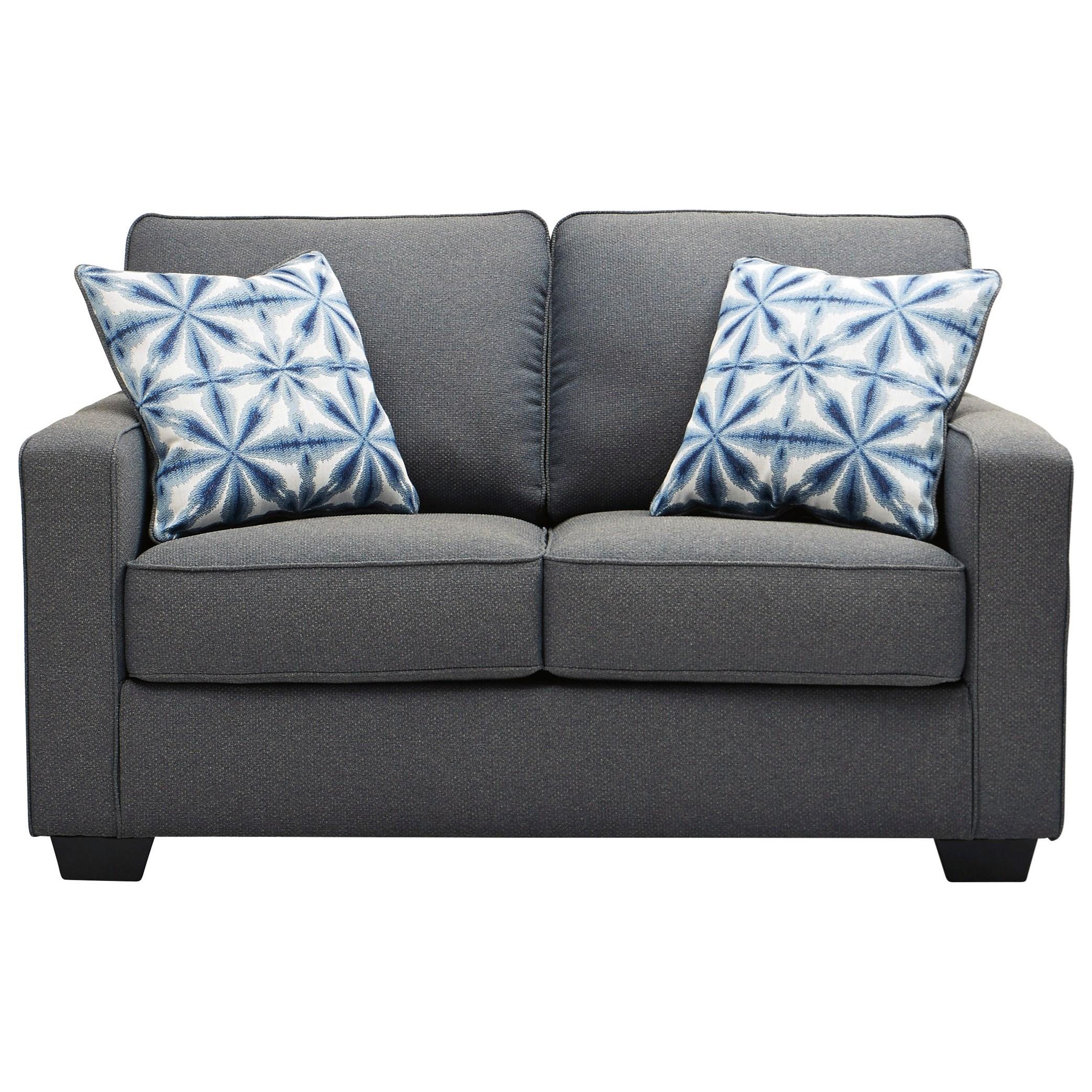 Kiessel Nuvella Loveseat by Benchcraft at HomeWorld Furniture