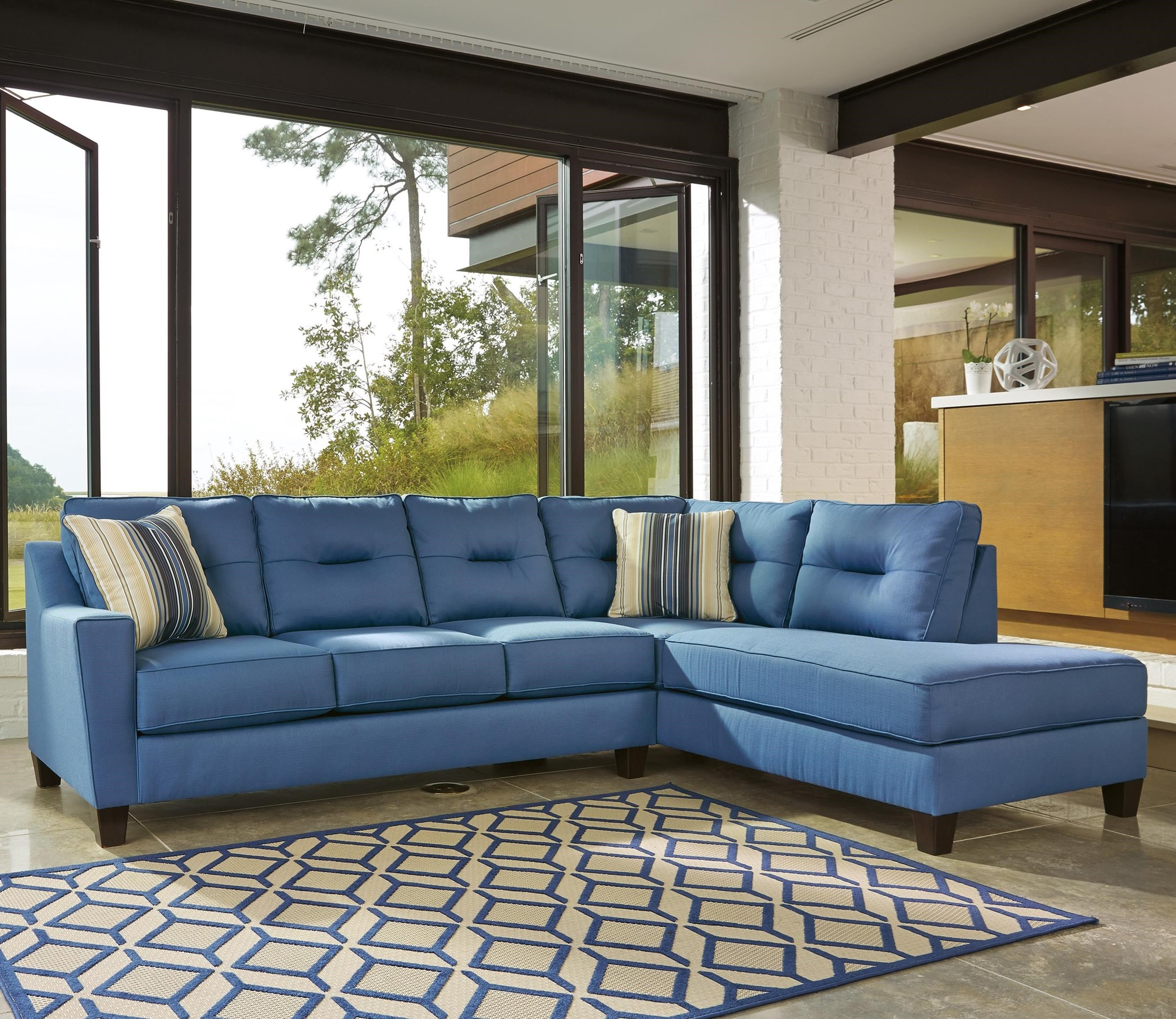 flanigan view rcwilley rc willey jsp modern room fabric sectional store sectionals blue living sofa furniture piece
