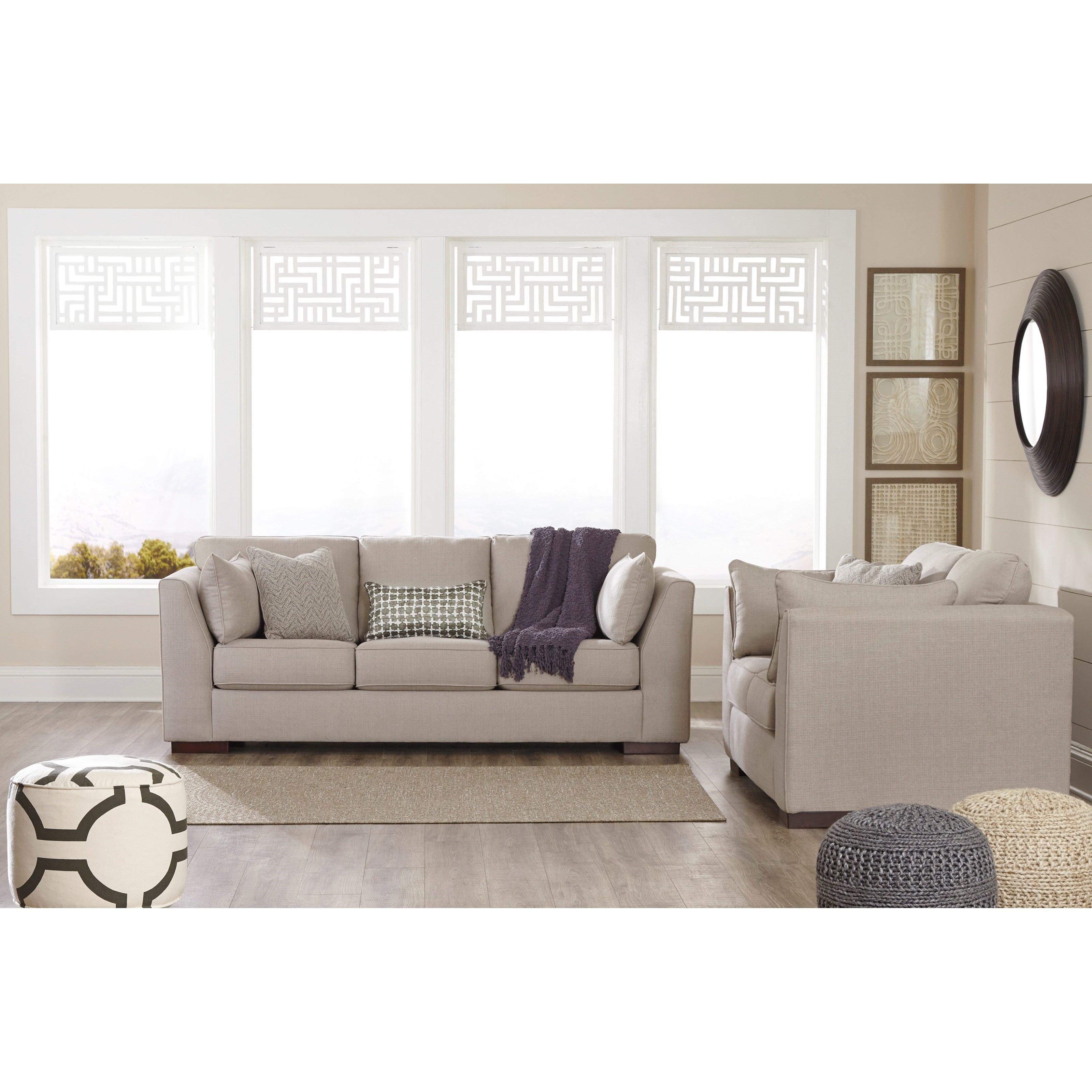 Benchcraft Lainier Stationary Living Room Group - Item Number: 54202 Living Room Group 1
