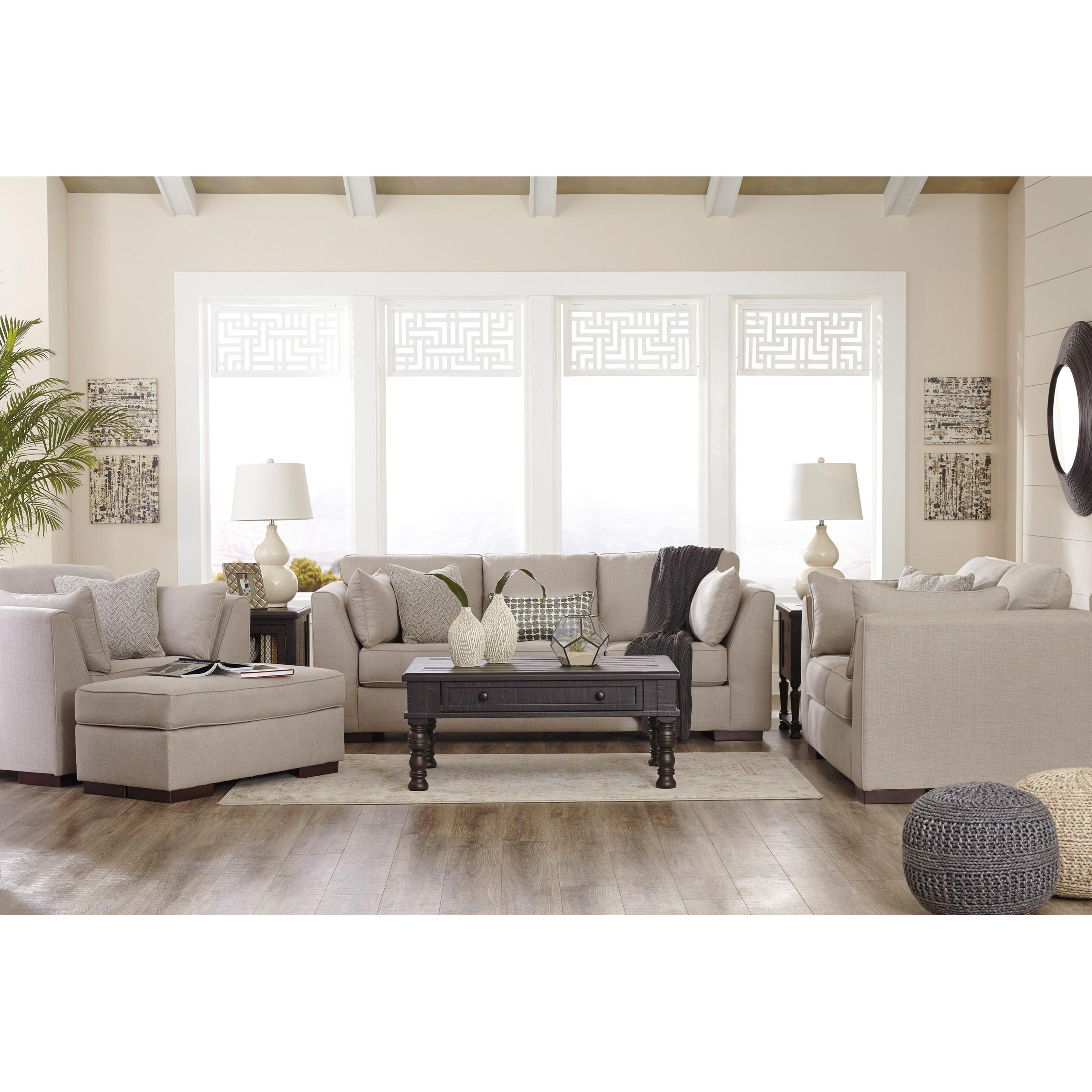 Ashley/Benchcraft Lainier Stationary Living Room Group - Item Number: 54202 Living Room Group 3