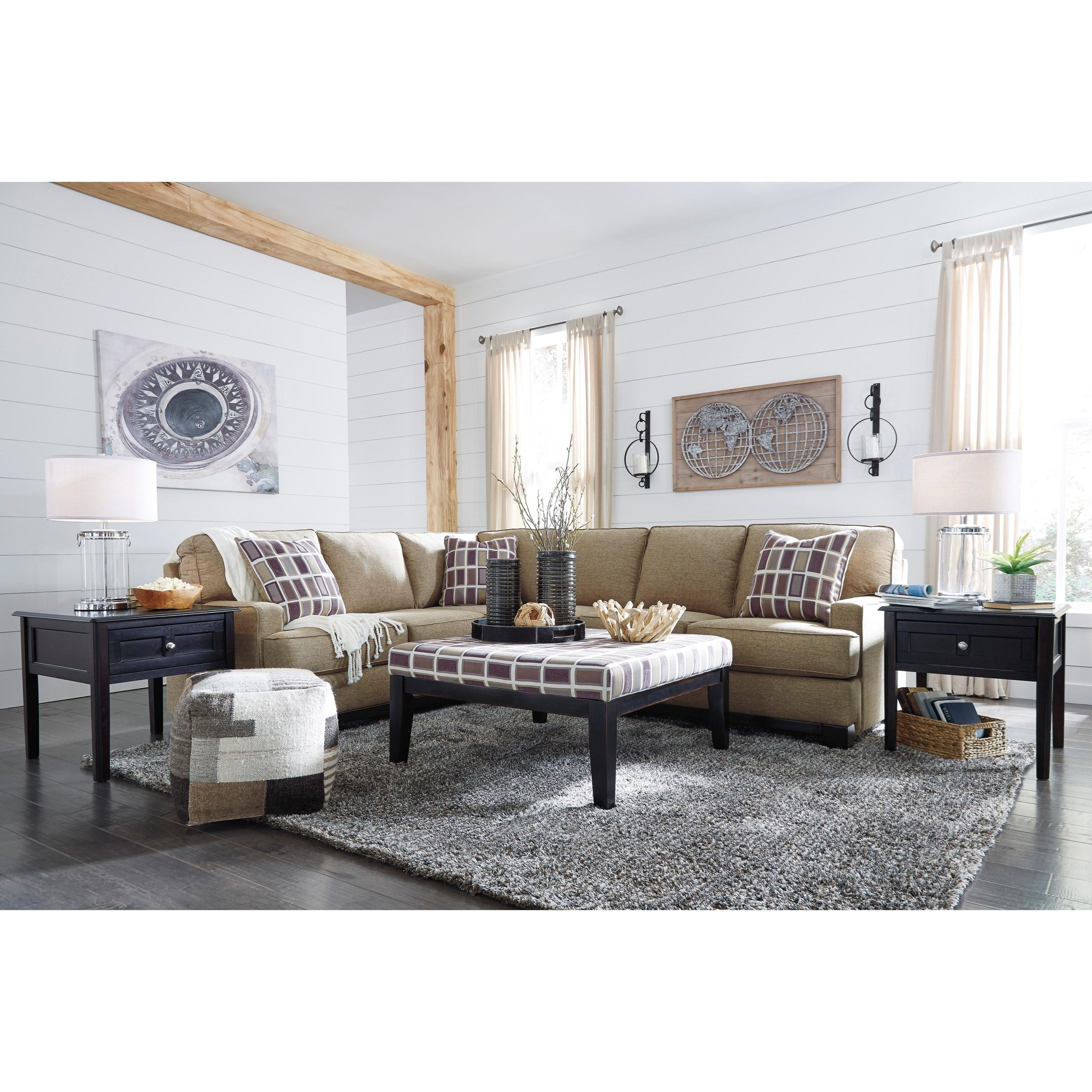 Benchcraft Larkhaven Stationary Living Room Group - Item Number: 81902 Living Room Group 1