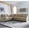 Benchcraft Larkhaven 2-Piece Sectional with Right Sofa - Item Number: 8190248+67
