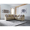Benchcraft Larkhaven Contemporary 2-Piece Sectional with Left Loveseat