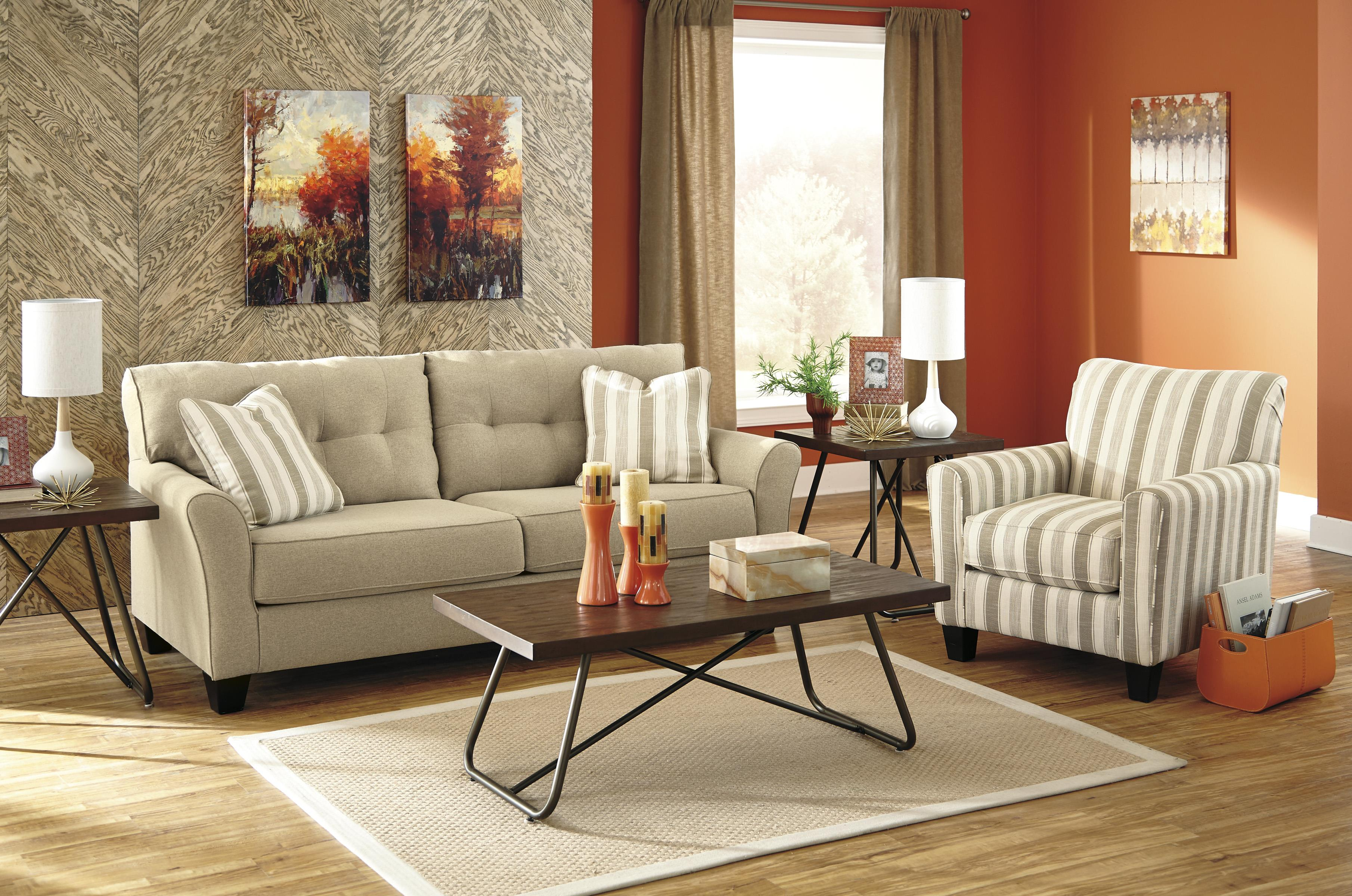 Ashley/Benchcraft Laryn Stationary Living Room Group - Item Number: 51902 Living Room Group 2