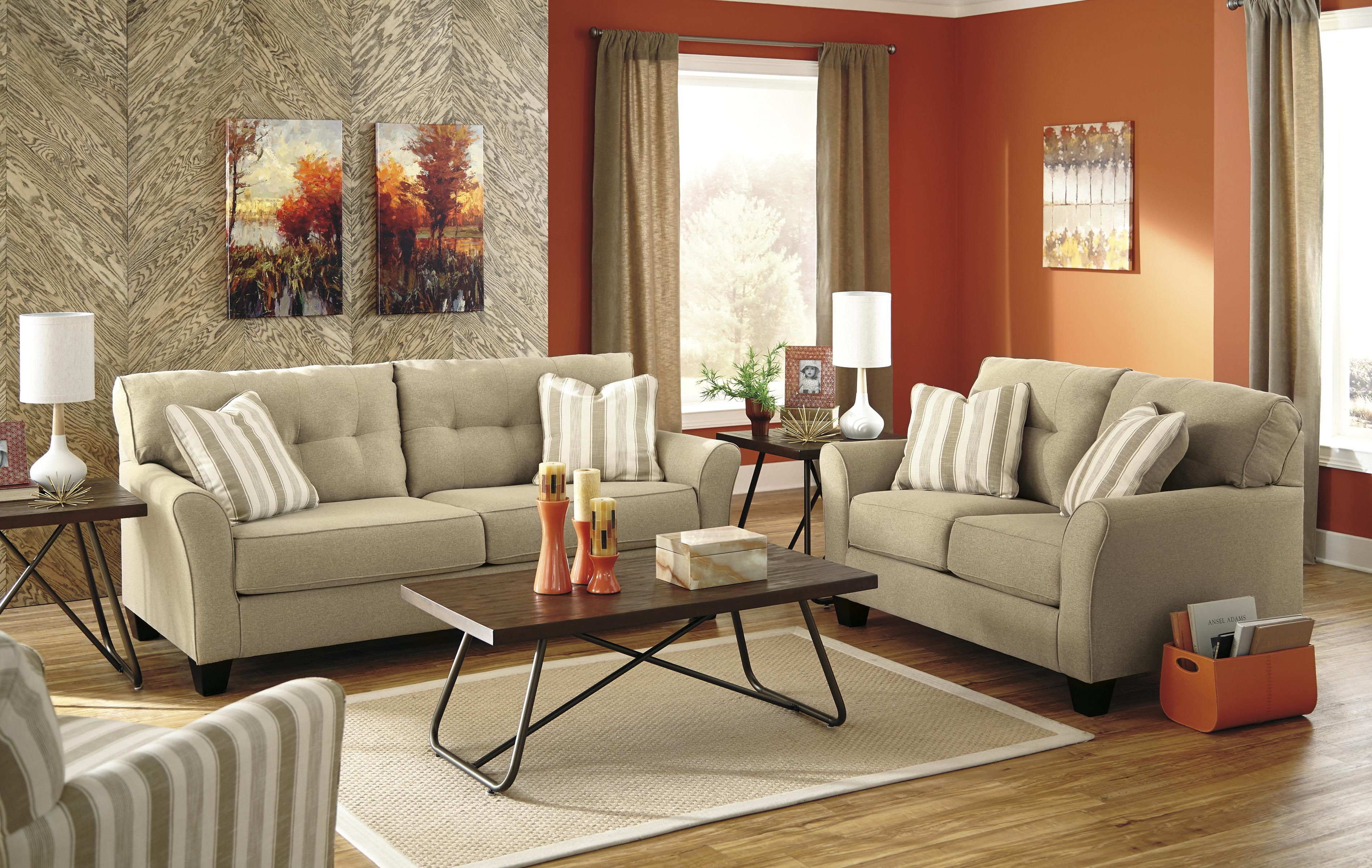 Benchcraft Laryn Stationary Living Room Group - Item Number: 51902 Living Room Group 3