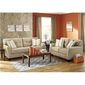Benchcraft Ashmont 5PC Living Room Package