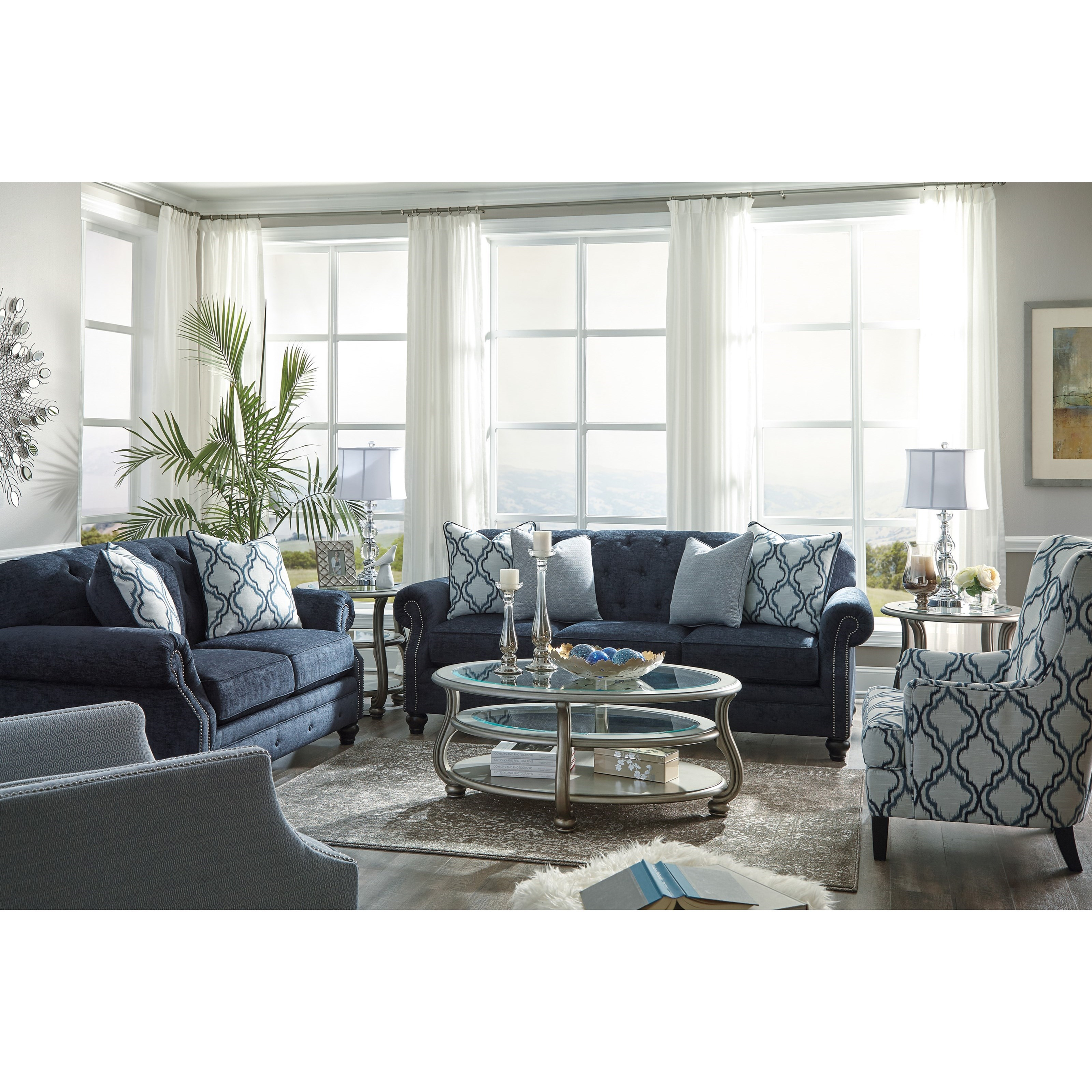 Benchcraft Lavernia 7130421 Transitional Wing Back Accent