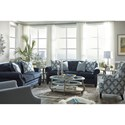 Benchcraft LaVernia Transitional Sofa with Tufted Back