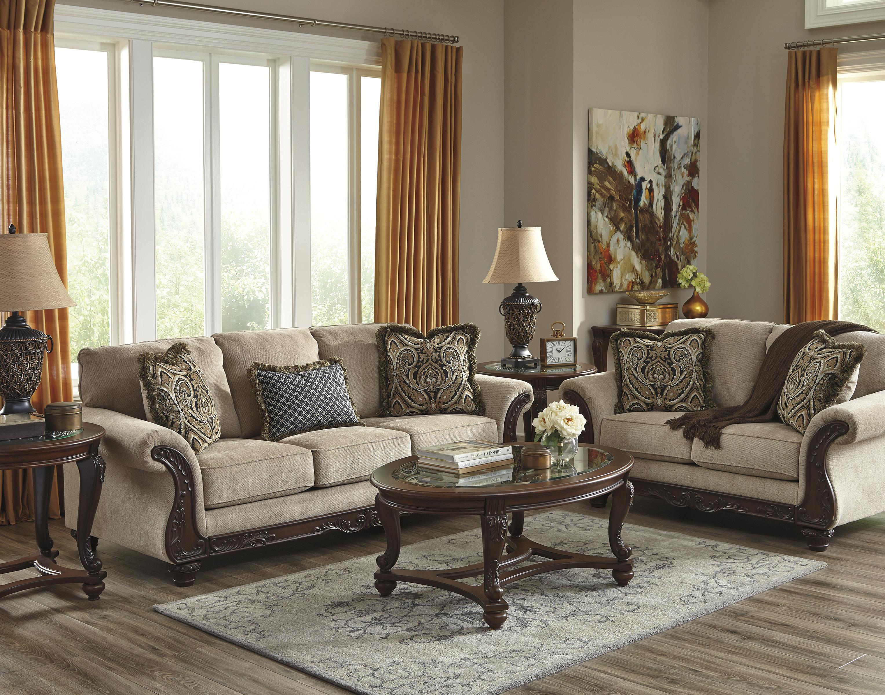 Benchcraft Laytonsville Stationary Living Room Group - Item Number: 72002 Living Room Group 1