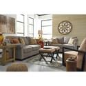 Benchcraft Leola Stationary Living Room Group - Item Number: 53601 Living Room Group 3