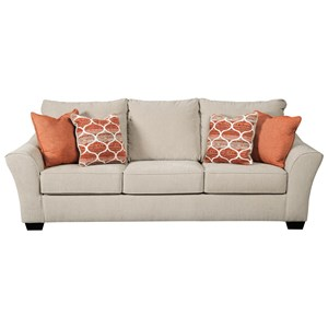 Benchcraft Lisle Nuvella Queen Size Sofa Sleeper