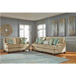 Ashley Lochian Stationary Living Room Group
