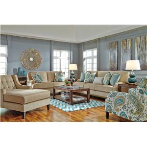 Benchcraft Lochian Stationary Living Room Group