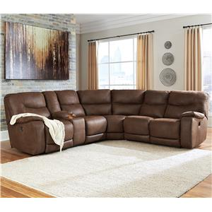 Benchcraft Longview Power Reclining Sectional