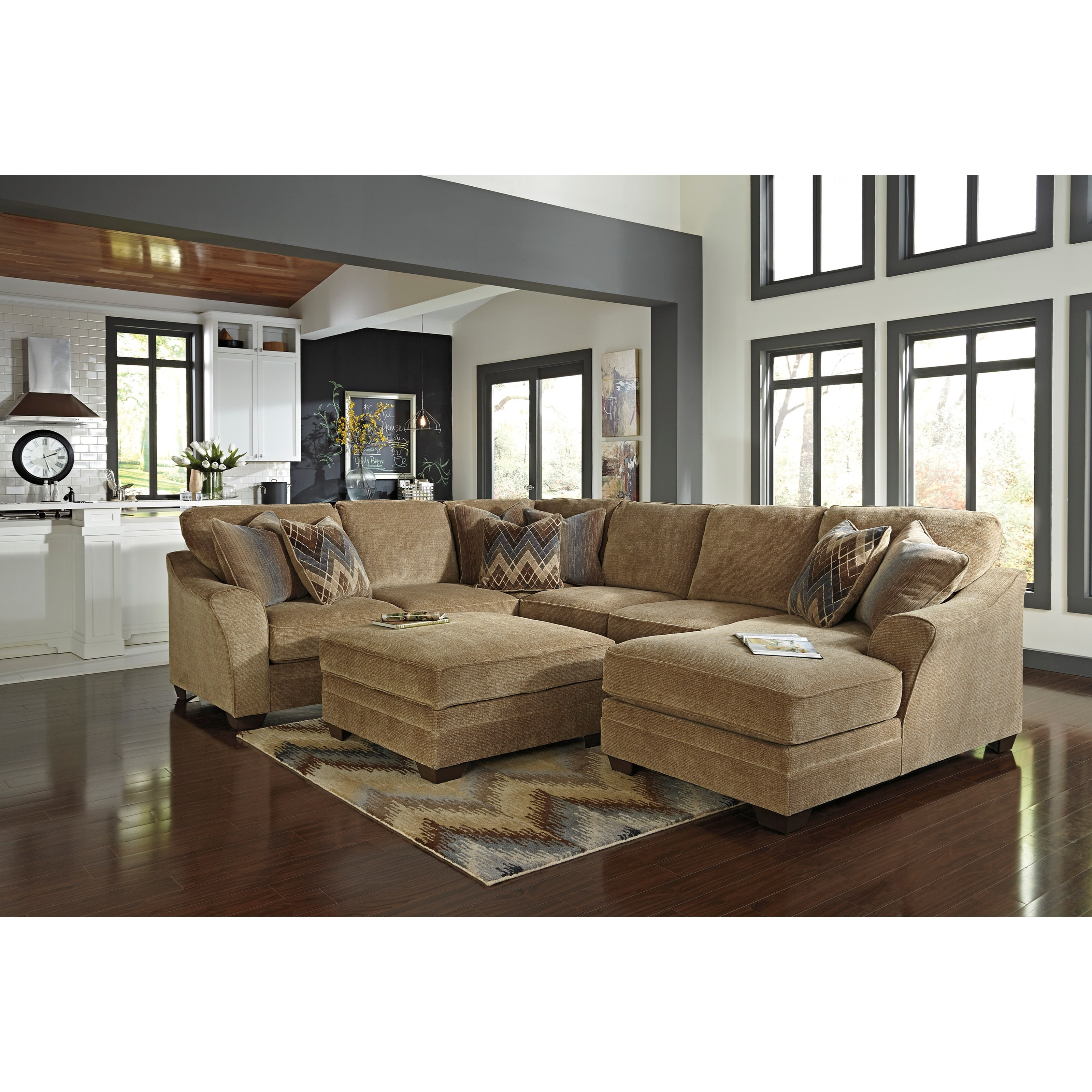 Benchcraft Lonsdale Stationary Living Room Group - Item Number: 92111 Living Room Group 2