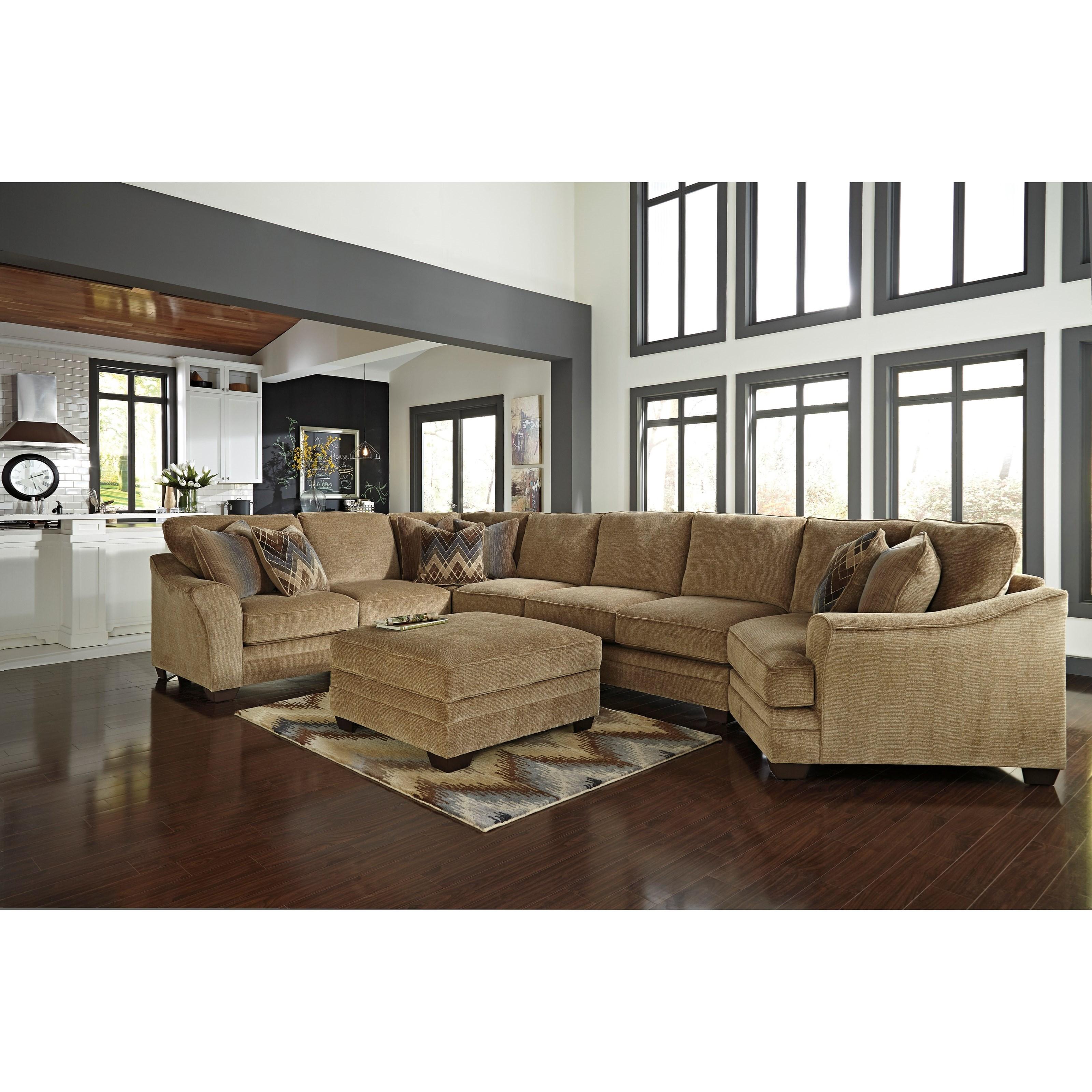 Ashley/Benchcraft Lonsdale Stationary Living Room Group - Item Number: 92111 Living Room Group 8