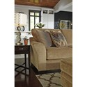 Ashley Lonsdale Contemporary 4-Piece Sectional w/ Armless Sofa & Left Chaise