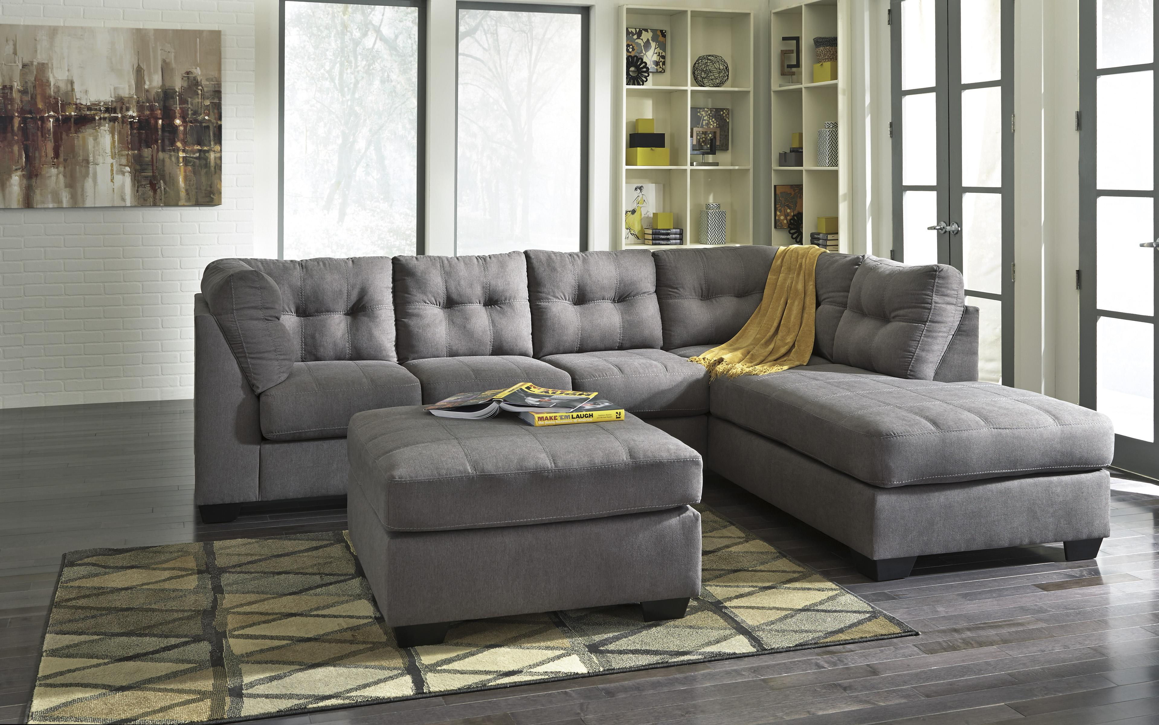 Benchcraft Maier - Charcoal Stationary Living Room Group - Item Number: 45200 Living Room Group 1