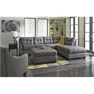 Benchcraft Maier - Charcoal Stationary Living Room Group