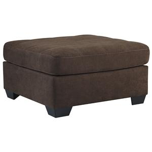 Benchcraft Maier - Walnut Oversized Accent Ottoman