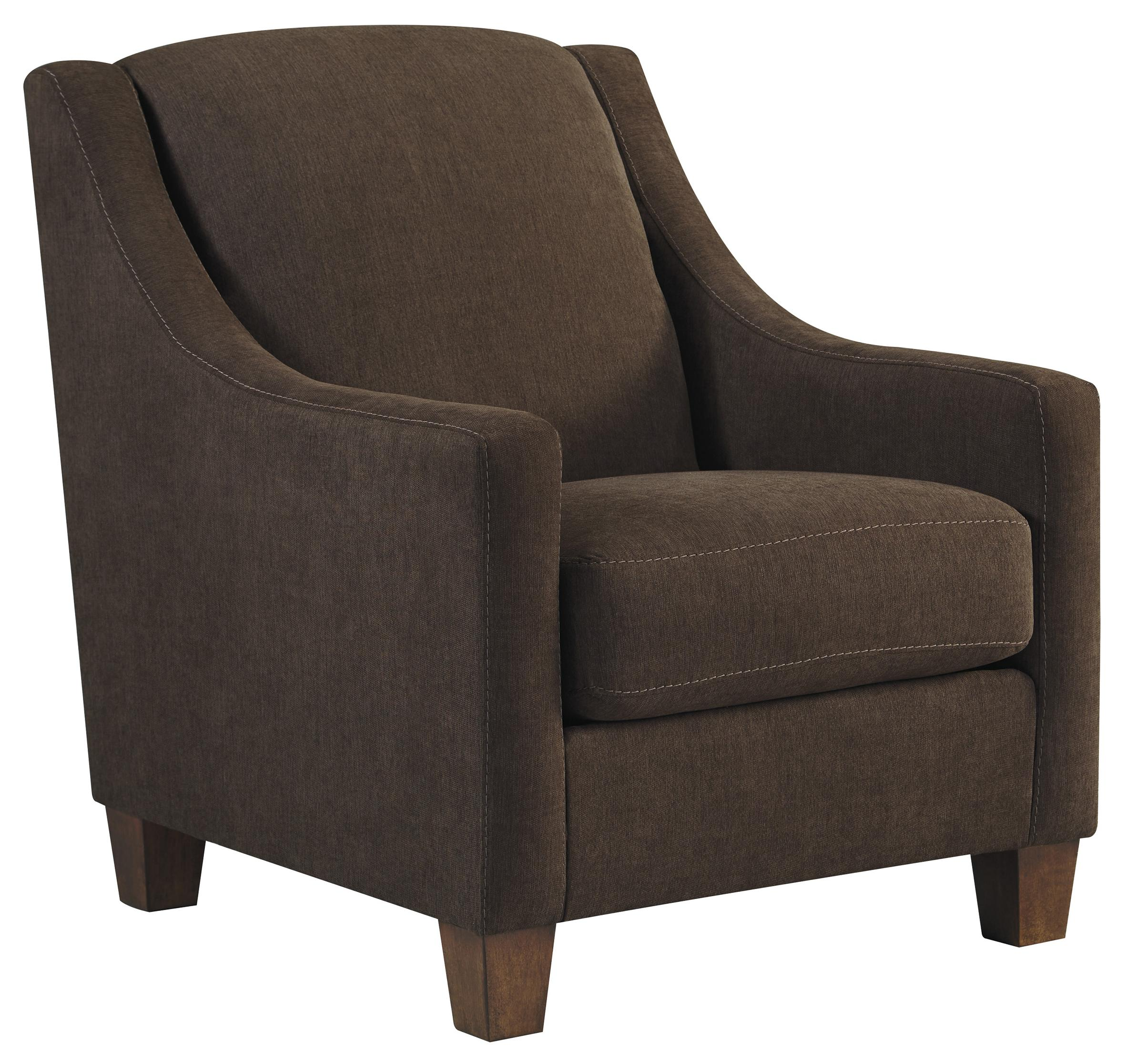 Benchcraft Maier - Walnut Accent Chair - Item Number: 4520121