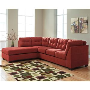 Del Sol AB Maier - Sienna 2-Piece Sectional with Left Chaise - 4520216+67