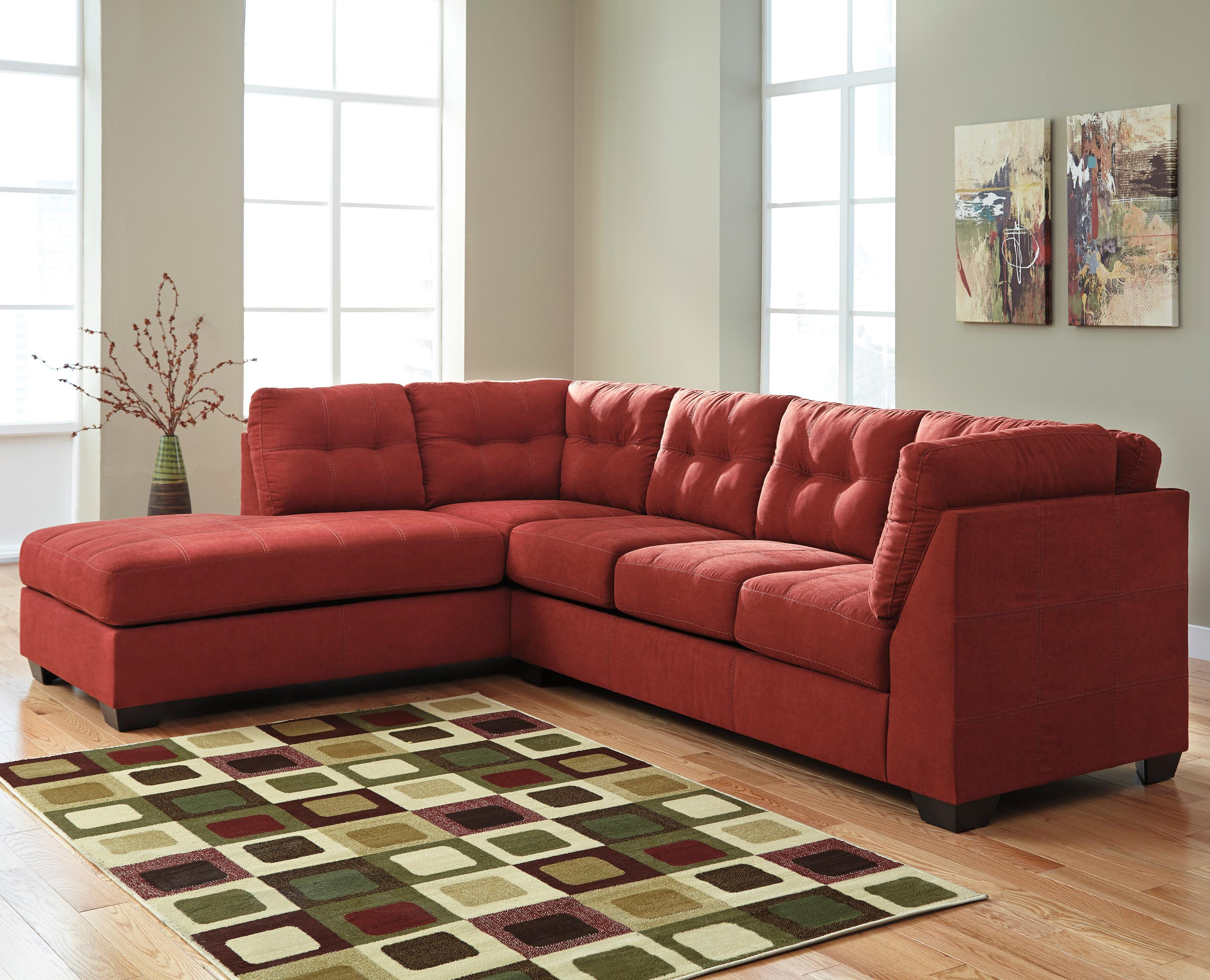 Benchcraft Maier - Sienna 2-Piece Sectional w/ Sleeper Sofa & Ch - Item Number: 4520216+83