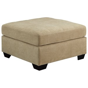 Benchcraft Maier - Cocoa Oversized Accent Ottoman