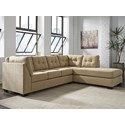 Benchcraft Maier - Cocoa 2-Piece Sectional w/ Sleeper Sofa & Chaise - Item Number: 4520310+17