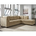 Benchcraft Maier - Cocoa 2-Piece Sectional with Right Chaise - Item Number: 4520366+17