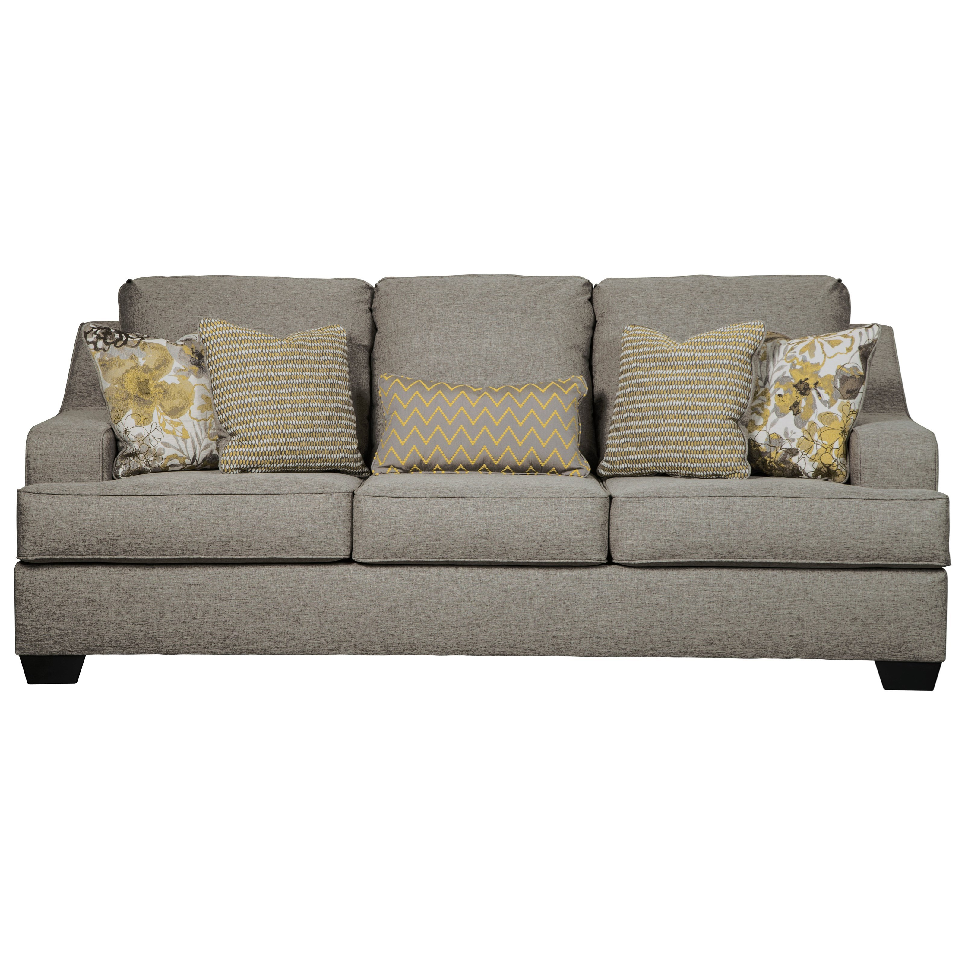 Benchcraft By Ashley Mandee Sofa With Contemporary Style Royal
