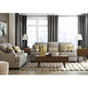 Benchcraft Mandee Queen Sofa Sleeper with Contemporary Style