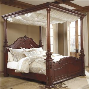 Ashley/Benchcraft Martanny Queen Canopy Bed