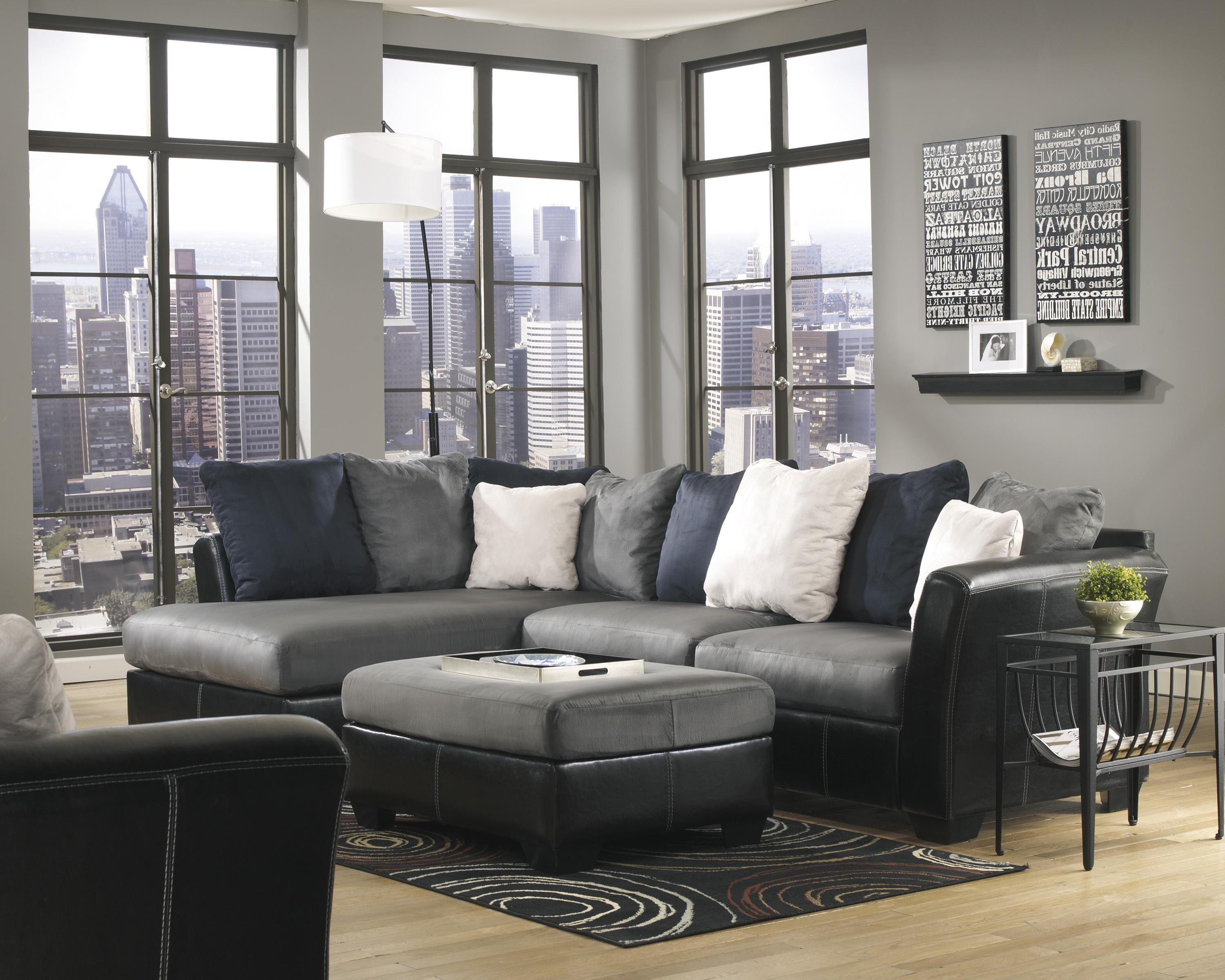 Ashley/Benchcraft Masoli - Cobblestone Stationary Living Room Group - Item Number: 14200 Living Room Group 10