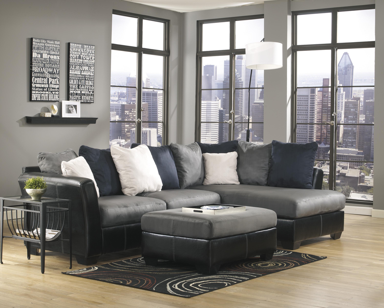 Benchcraft Masoli - Cobblestone Stationary Living Room Group - Item Number: 14200 Living Room Group 6