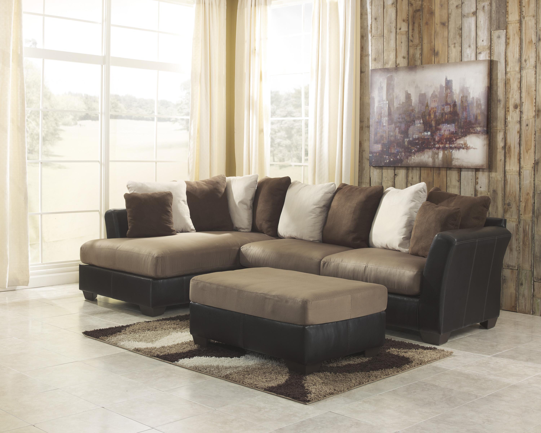Benchcraft Masoli - Mocha Stationary Living Room Group - Item Number: 14201 Living Room Group 2