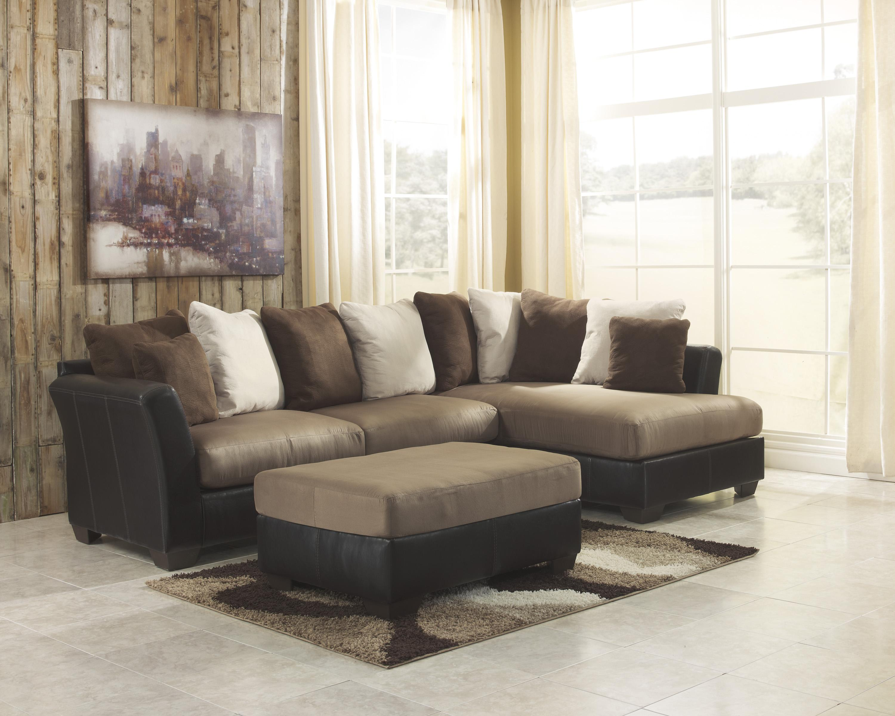 Benchcraft Masoli - Mocha Stationary Living Room Group - Item Number: 14201 Living Room Group 3