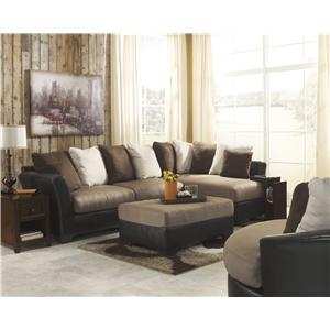 Benchcraft Masoli - Mocha Stationary Living Room Group