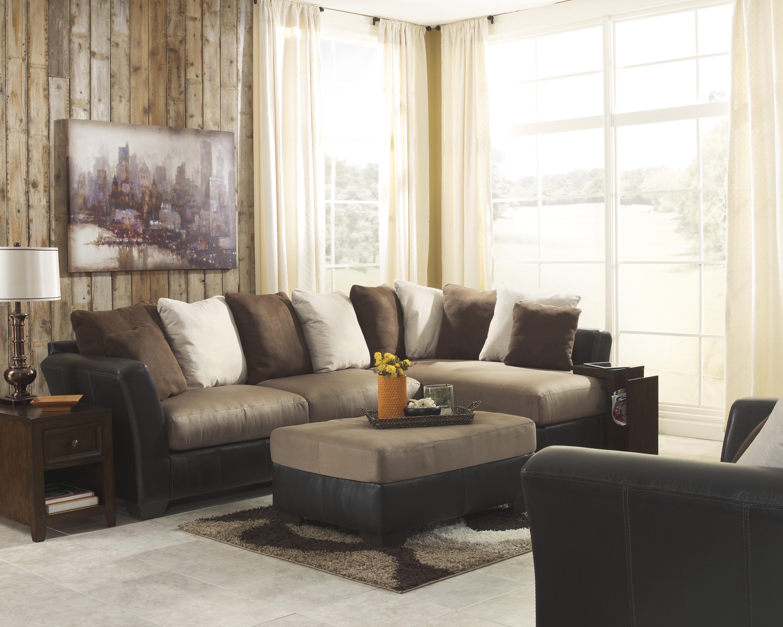 Ashley/Benchcraft Masoli - Mocha Stationary Living Room Group - Item Number: 14201 Living Room Group 6