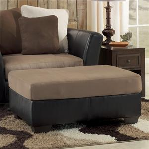 Ashley/Benchcraft Masoli - Mocha Oversized Accent Ottoman