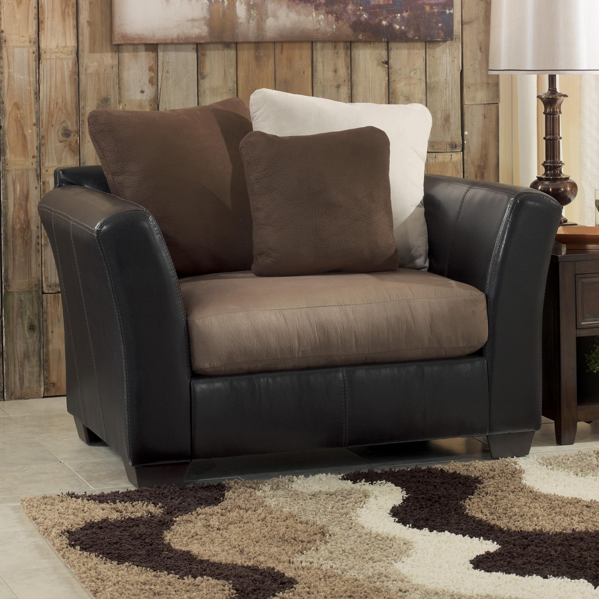 Benchcraft Masoli - Mocha Chair and a Half - Item Number: 1420123