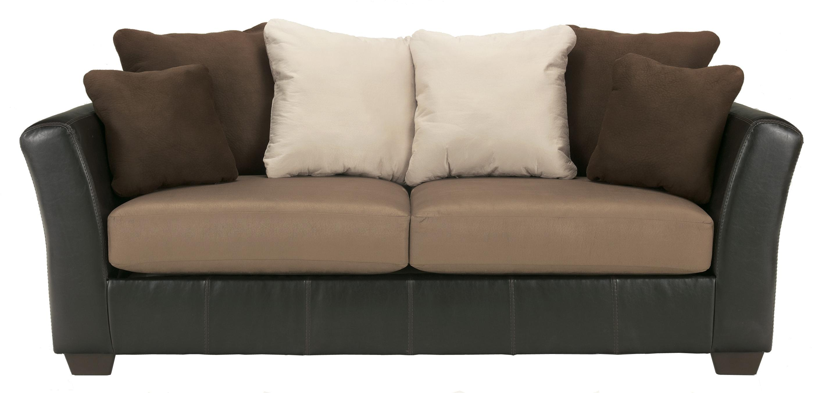 Ashley/Benchcraft Masoli - Mocha Sofa - Item Number: 1420138