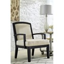 Benchcraft Mauricio Contemporary Wood Frame Accent Chair