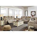 Benchcraft McGinty Reclining Living Room Group - Item Number: 54101 Living Room Group 2