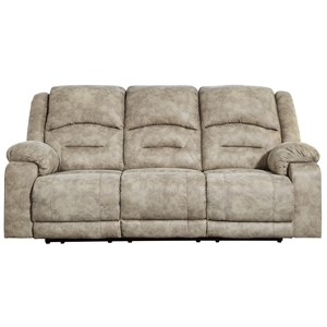 Benchcraft McGinty Power Reclining Sofa w/ Adjustable Headrest
